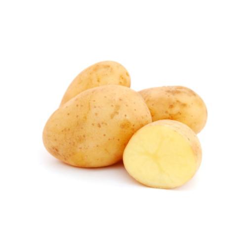 Le patate novelle sono a buccia fina.